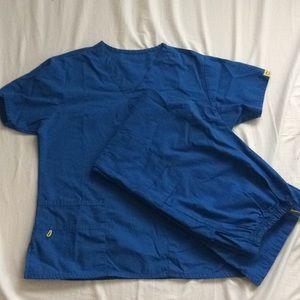 Other - Royal blue // Scrubs // Wink